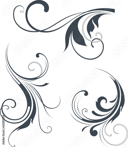 vectorized scroll design