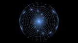 Night Sky Atlas, Planisphere, seamless loop