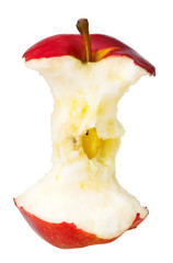 core of red delicious apple