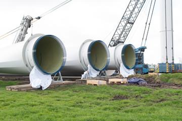 Onshore Windkraftanlagenbau