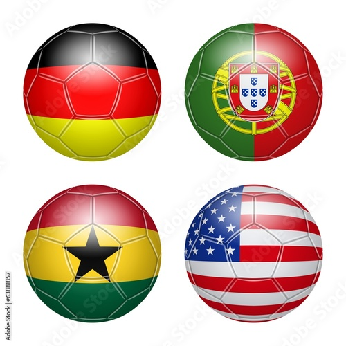 Soccer, Brazil. Group G