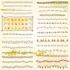 Doodle Frame Design Elements