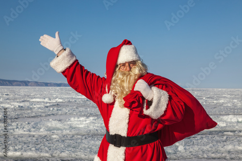 Santa Claus  outdoors
