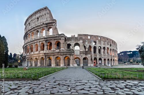 Canvas Rome Colosseo