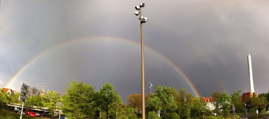 Rainbow over Erlangen