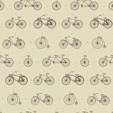 bikes sketch pattern