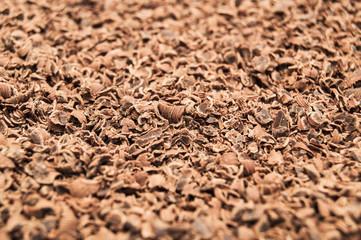 фон шоколадная стружка