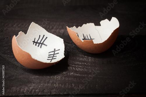 Papiers peints Ouf Egg jail - prison
