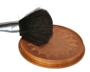 makeup brush of actresses