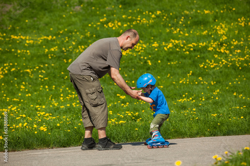 Rollerblades / inline skates teaching time
