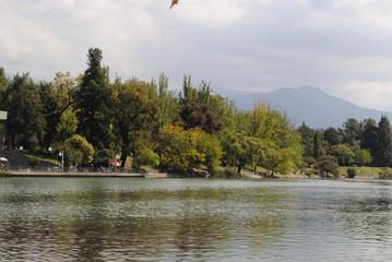 Lago de Parque San Martin
