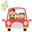 ママと赤ちゃんでドライブ