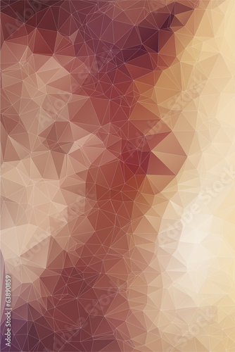 Fotobehang Geometrische Achtergrond Abstract triangles background