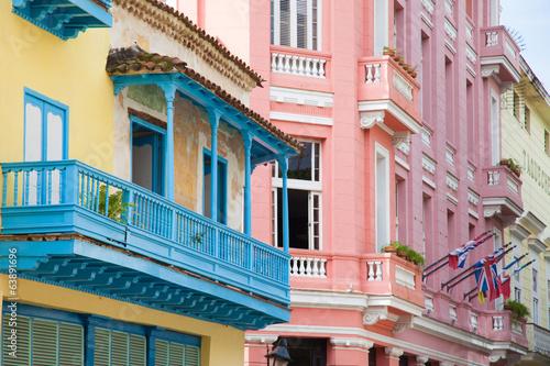 Leinwanddruck Bild Old Havana, Cuba