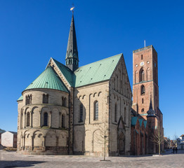 Cathedral in Ribe, Denmark