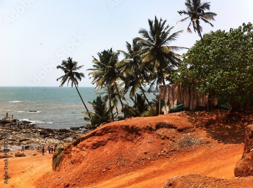 near beach in northen Goa