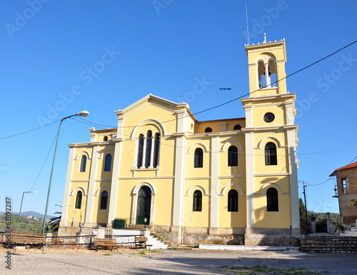 Old church on the island of Corfu, Greece, Europe