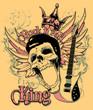 Постер, плакат: Rock and roll king