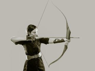 Archery woman