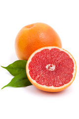 Isolated grapefruit