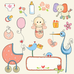 Cute Baby Girl Set