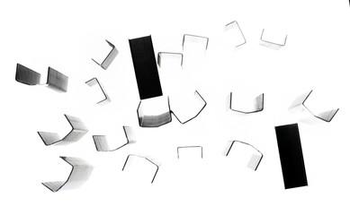 Stapler paper clips