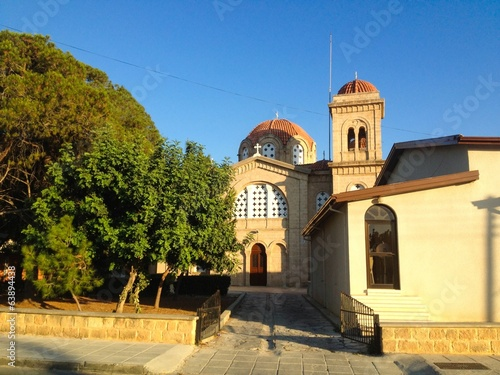 Ortodox church in Paphos