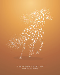 Happy New Year of horse 2014