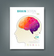 Magazine Skull and brain for business design