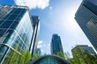Business buildings in Canary Wharf - 63896497