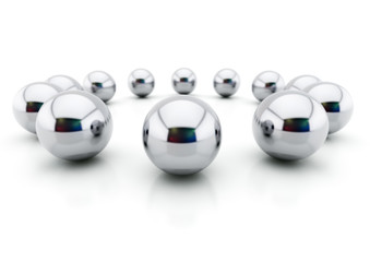 Steel balls(Competition Concept)