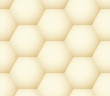 Vector seamless pattern - geometric honeycomb like simple modern