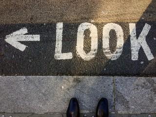look left!