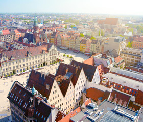 Wroclaw town market