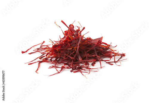 Heap of saffron