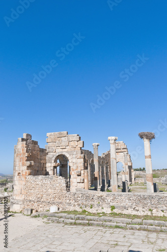 Forum Therms at Volubilis, Morocco