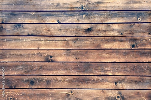 Tuinposter Hout Wood Board Plank Panel Brown Background, XXXL