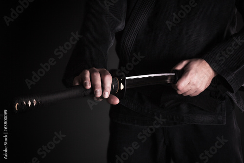 Foto op Aluminium Vechtsport Japanese Traditional Sword