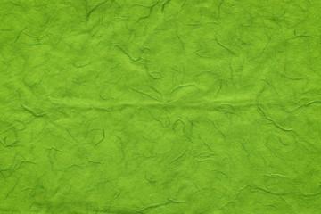 Green handmade paper texture