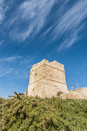 Watch Tower near Blue Grotto in Malta