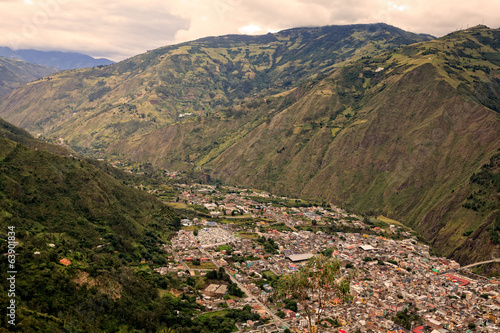 ecuadorian mountain city