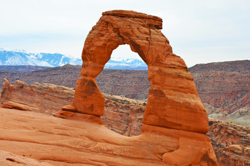 Delicate Arch north side