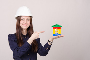 Builder indicates house project