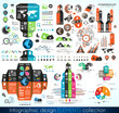 Timeline Infographic design template.