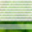 Green and white background with bright stripe. Eps10