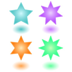Volumetric stars