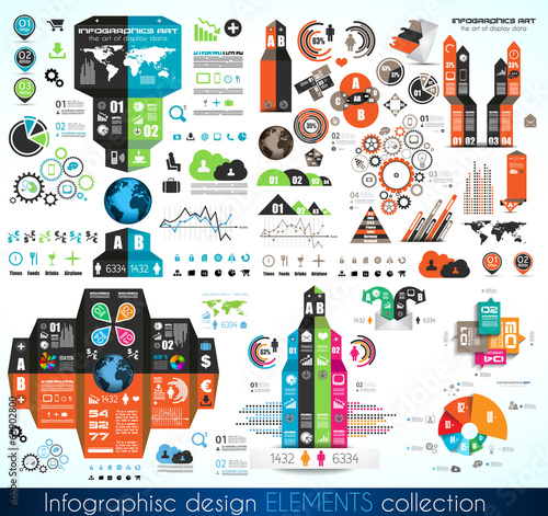 Timeline Infographic design template.