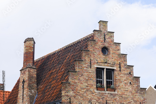 Traditional buildings, Bruges, Belgium