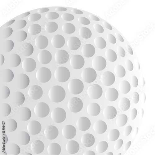 Golf Ball Detail