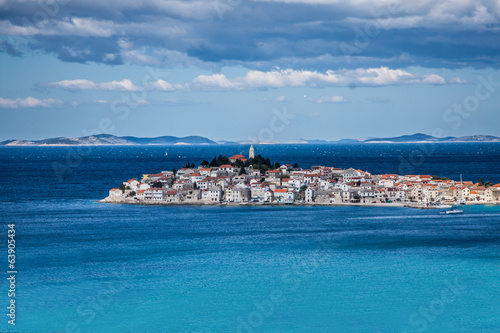 Primosten, famous touristic destination in Croatia